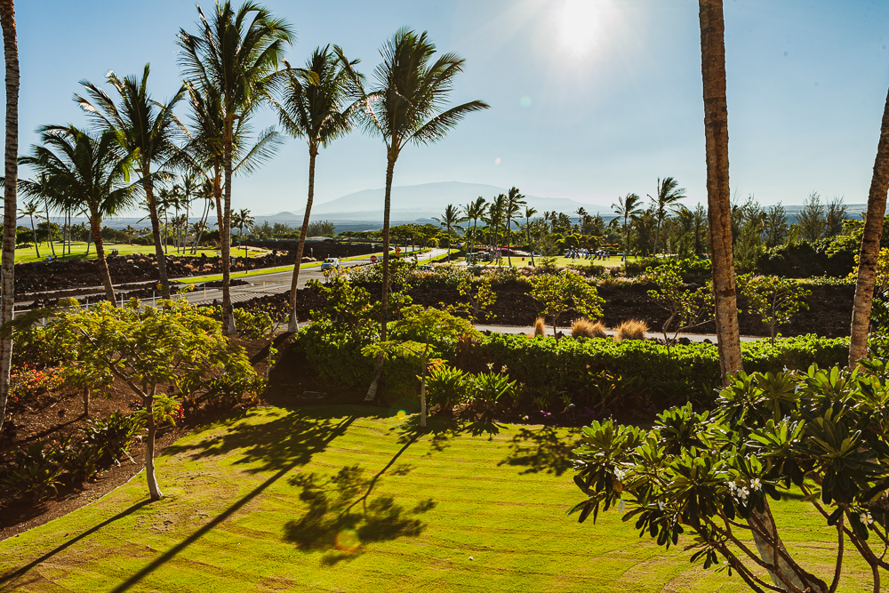View from our Balcony in Waikoloa