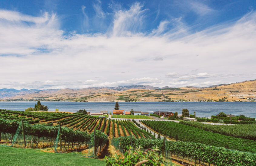 Visiting Wine Country in Washington State, a Road Trip to Lake Chelan